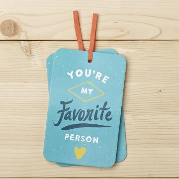Gift Tag Card with Envelope
