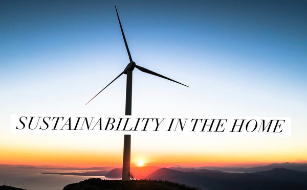 Sustainability In The Home