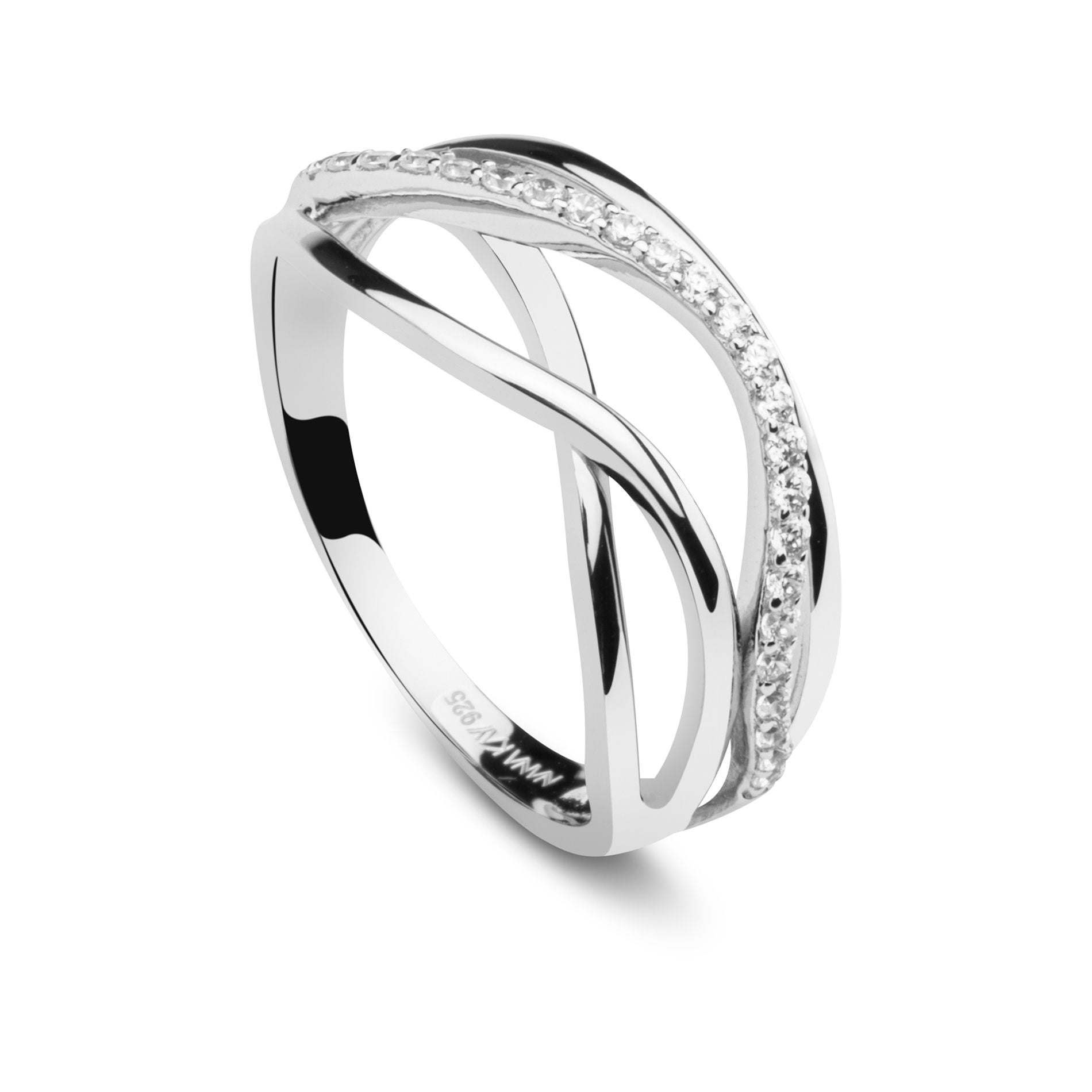 Swinging Silver Ring Eternity Silber