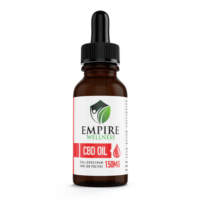 CBD Tincture, isolate  (THC free) 150mg and 700mg