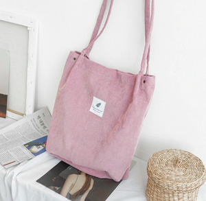 VELOUR TOTE BAGS