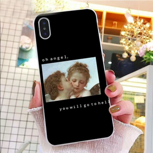 """Edgy Angels"" IPhone Cases"