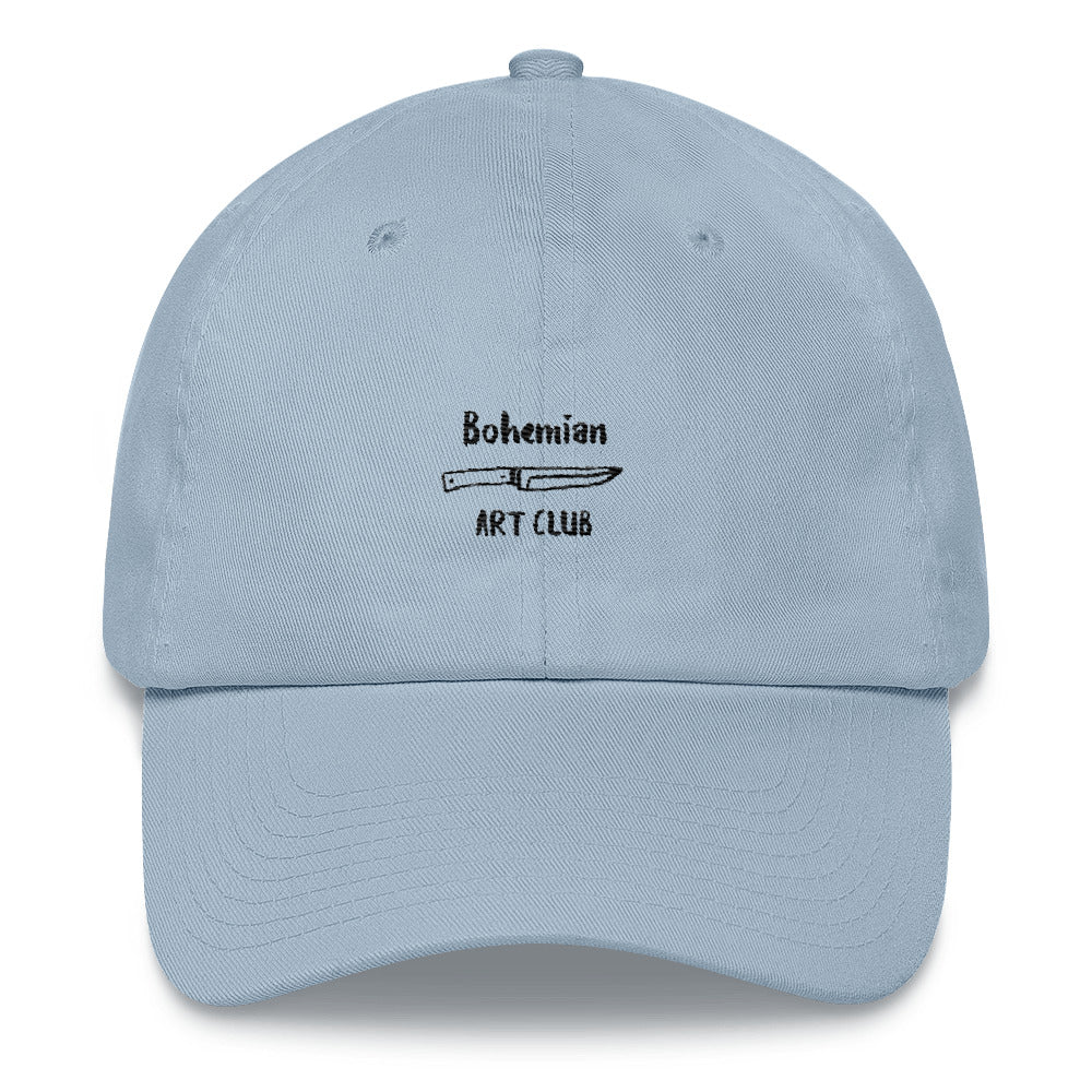 """BOHEMIAN ART CLUB"" EMBROIDERED CAP"