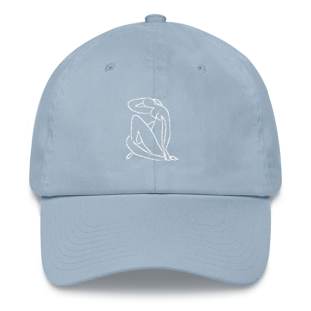 """MATISSE INSPIRED"" EMBROIDERED CAP"