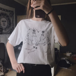 "MATISSE ""SKELETON DANCE"" TEE"
