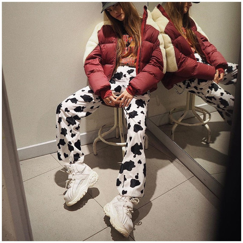 """Aesthetic Milk Cow"" Pants"