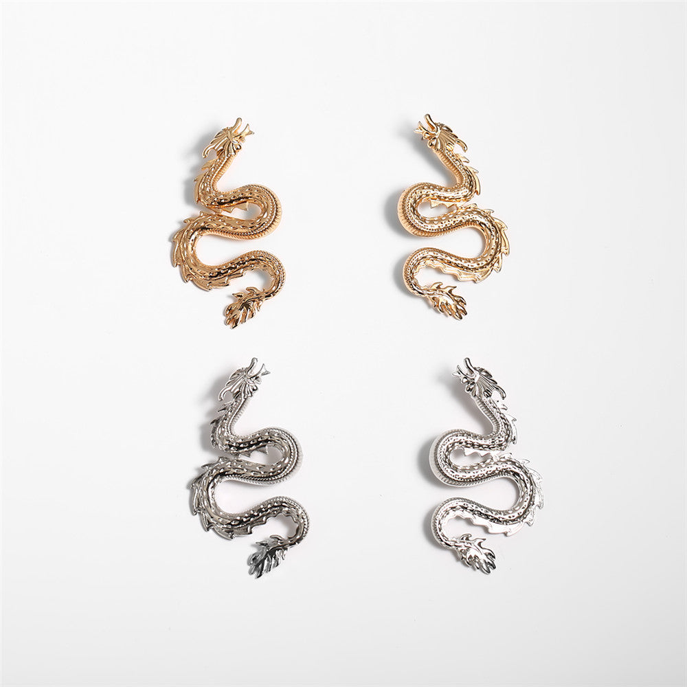 """Arty Dragon"" EARRINGS"