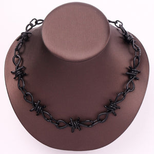 """Wire Brambles"" Necklace"