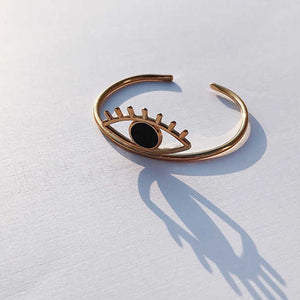 """CONSCIOUS BIG EYE"" EARRING"