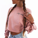 """Bowknot"" CROP SWEATER"