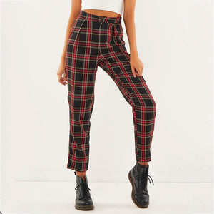 """CASUAL PLAID"" PANTS"