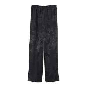 """Dragon Embroidered"" Pants"