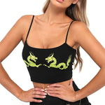"""Dragon Face Off"" CROP TOP"