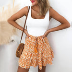 """RUFFLE BEACH"" SKIRT"