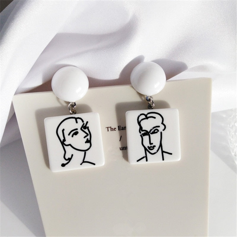 """Matisse inspired"" Earrings"
