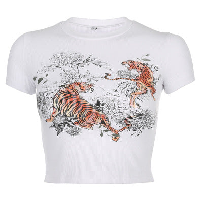 """Arty Tigers"" CROP TOP"