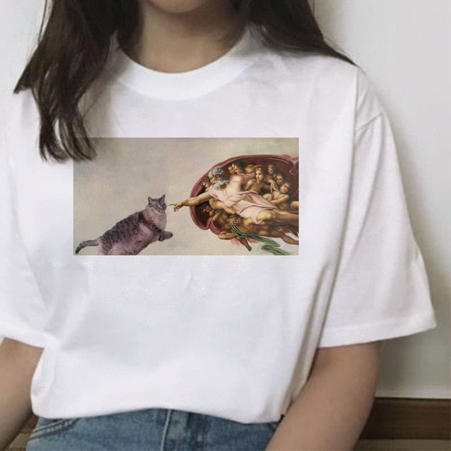 """Cats on ART"" TEE"