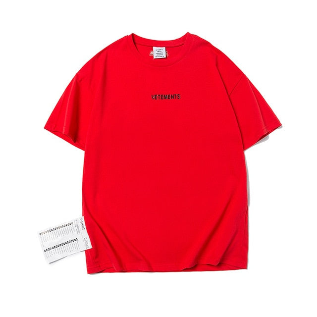 """Vetements"" TEE"