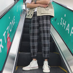 """Edgy Plaid"" Pants"