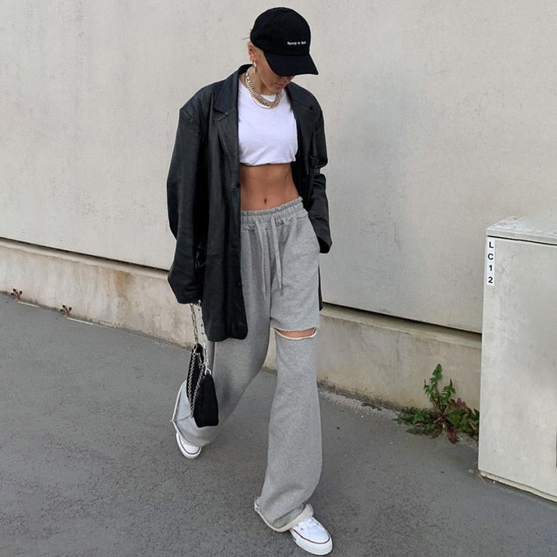 """Aesthetic Hole"" SWEATPANTS"
