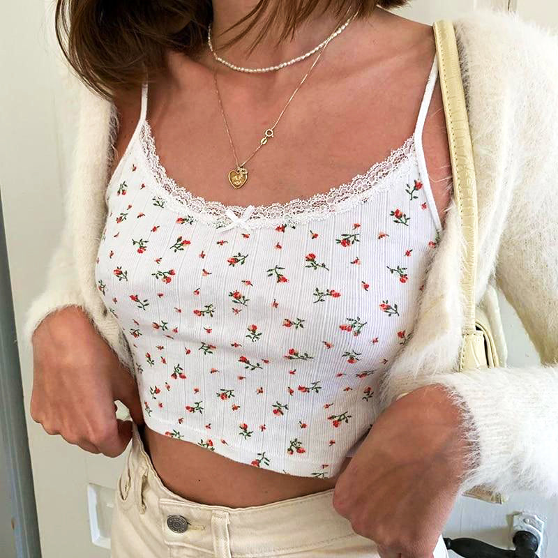 """Aesthetic Roses"" CROP TOP"