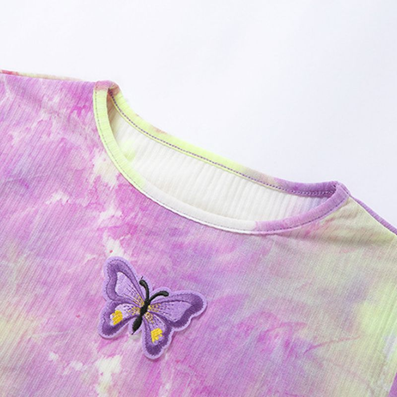"""Colorfest Butterfly"" CROPTOP"