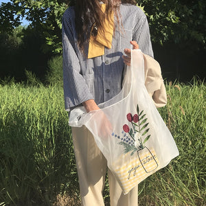 """Arty Embroidered"" TOTE BAG"