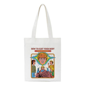 """Funny Aesthetic Drawings"" BAG"