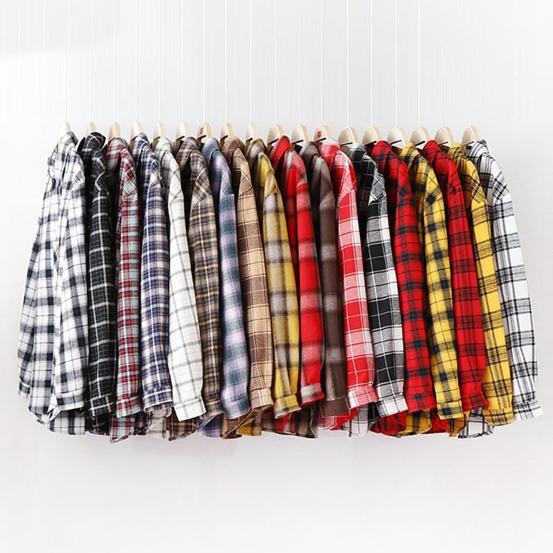 """Vintage Plaid"" SHIRT"