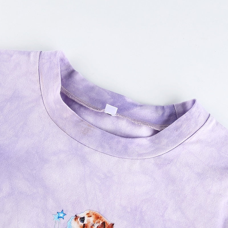 """Butterfly Cat"" CROP TOP"