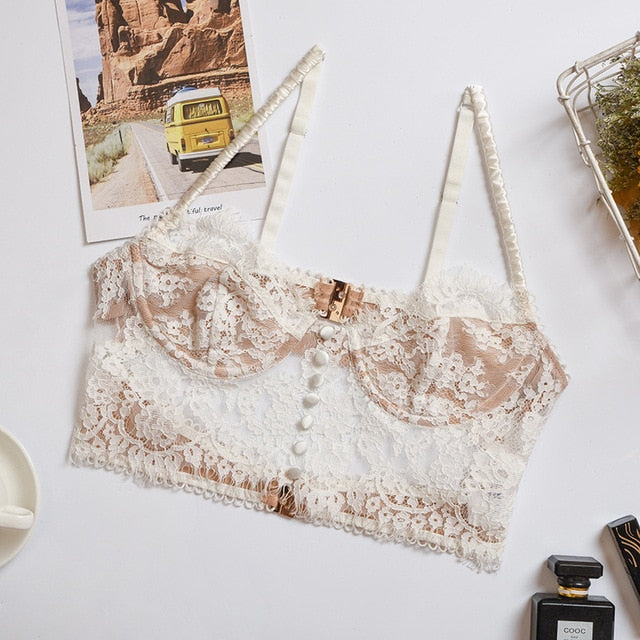 """Camisole Lace"" CROP TOP"