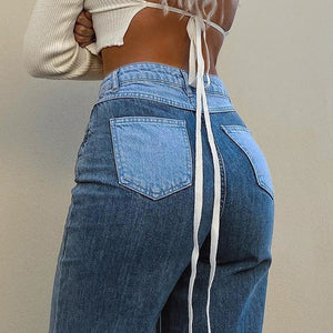 """ AestheticPatchwork"" JEANS"