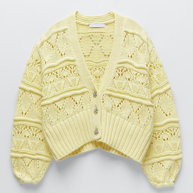 """Arty Knitted"" CARDIGAN"