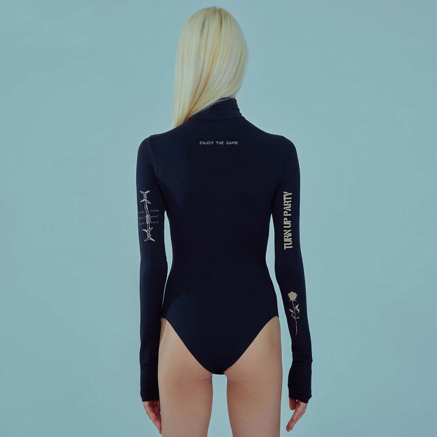 """Aesthetic Turtleneck"" BODYSUIT"