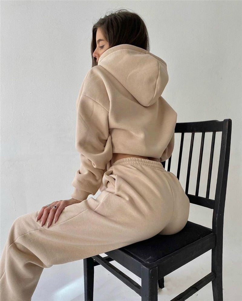 Aesthetic Tracksuit Set