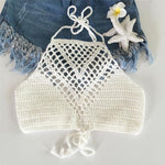 """BOHO BEACH"" HANDMADE TOP"