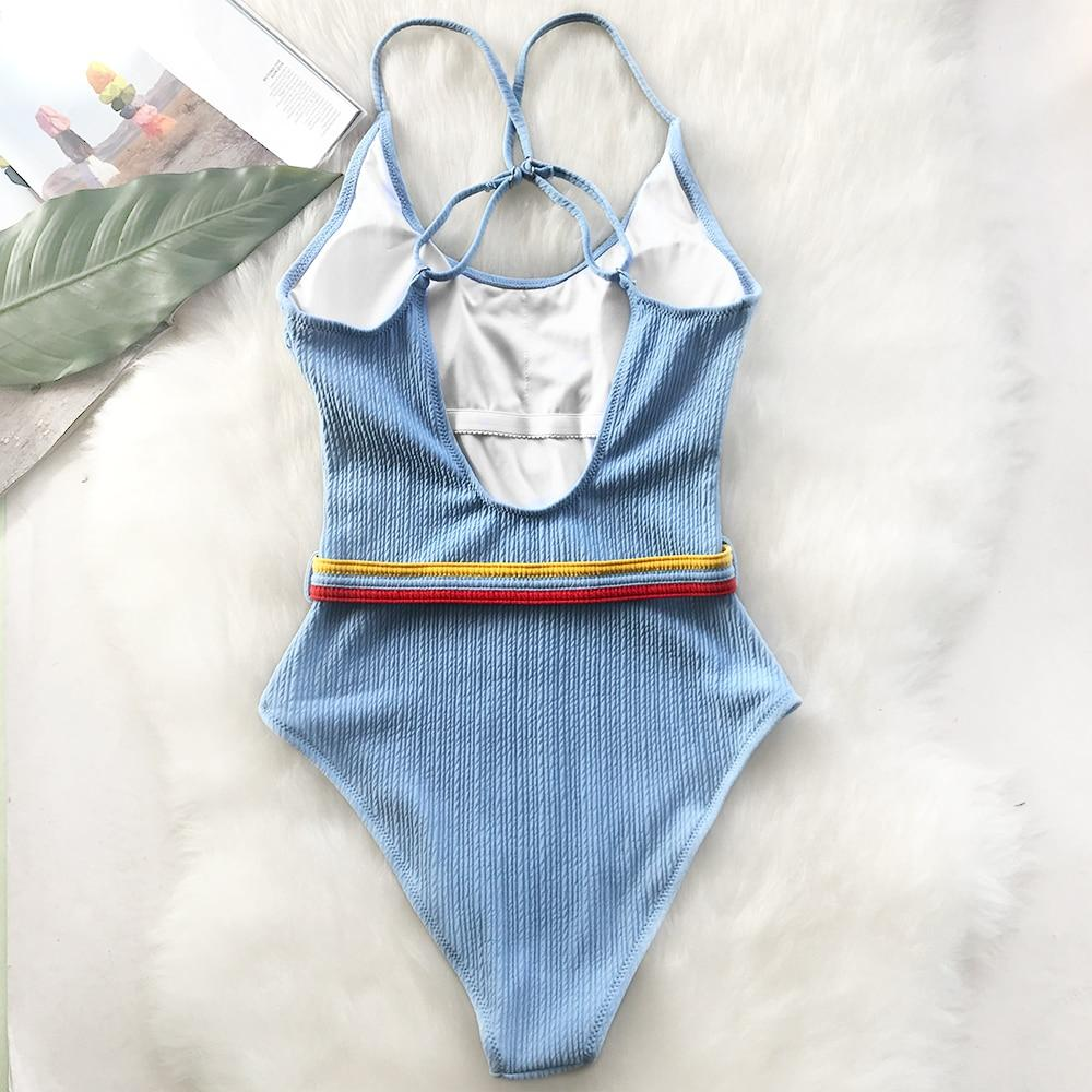 """WAISTBAND"" SWIMSUIT"