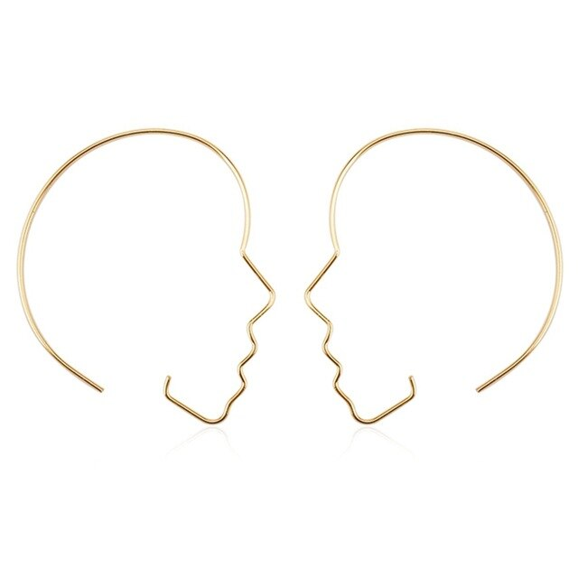 """PORTRAIT FACE"" EARRINGS"