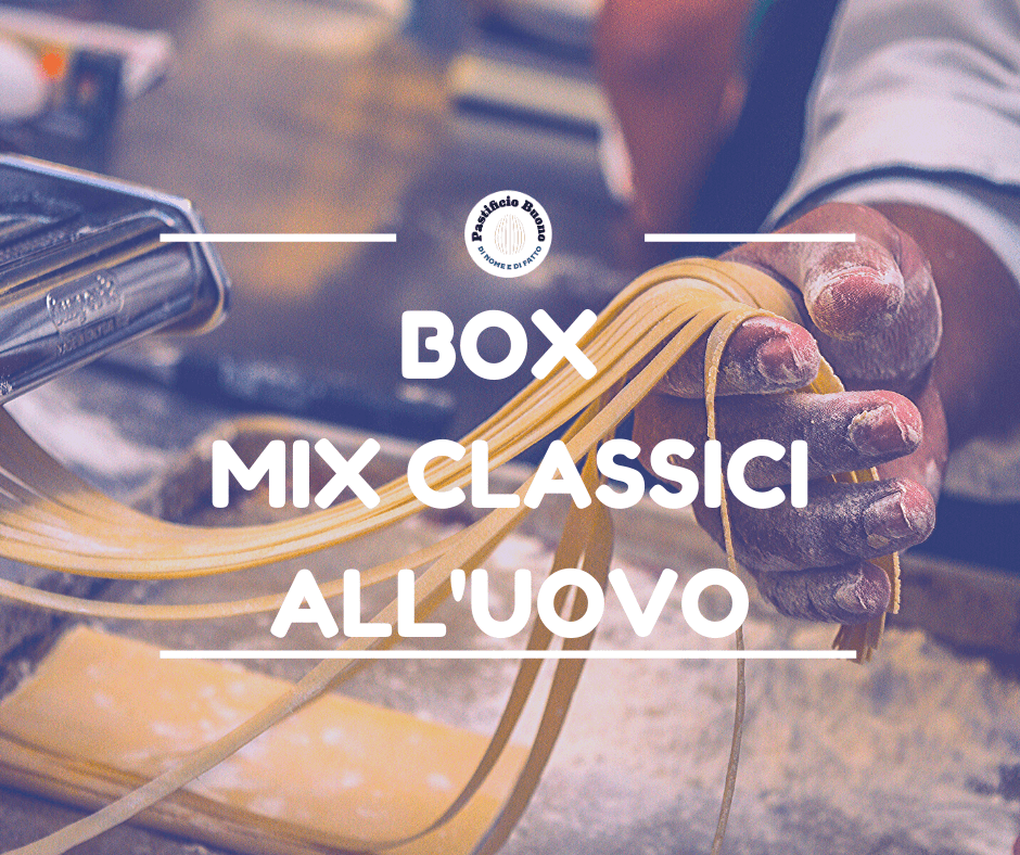 Box Mix di Classici all'Uovo - Pastificio Buono