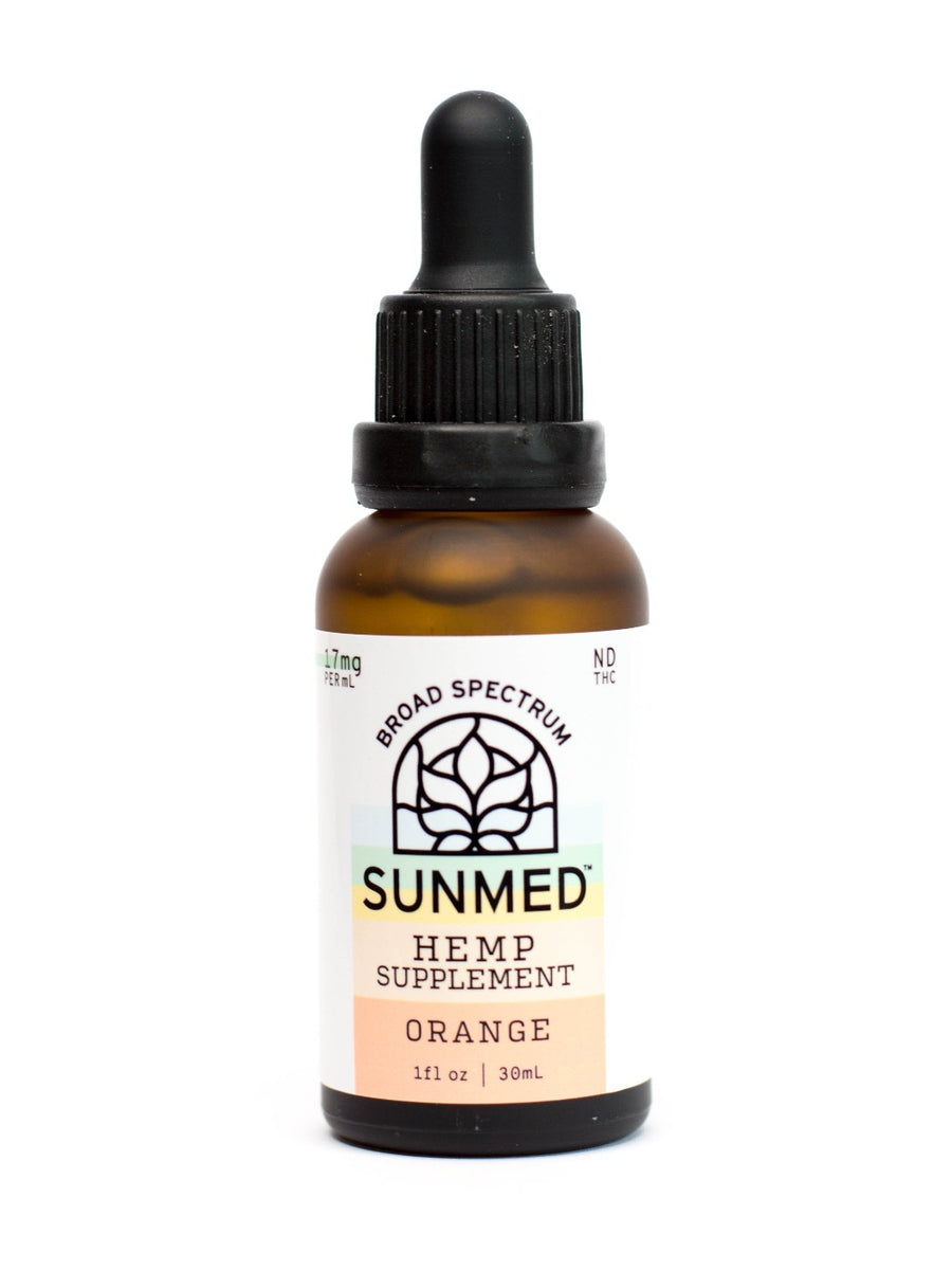 HEMP OIL - BROAD Spectrum - Orange