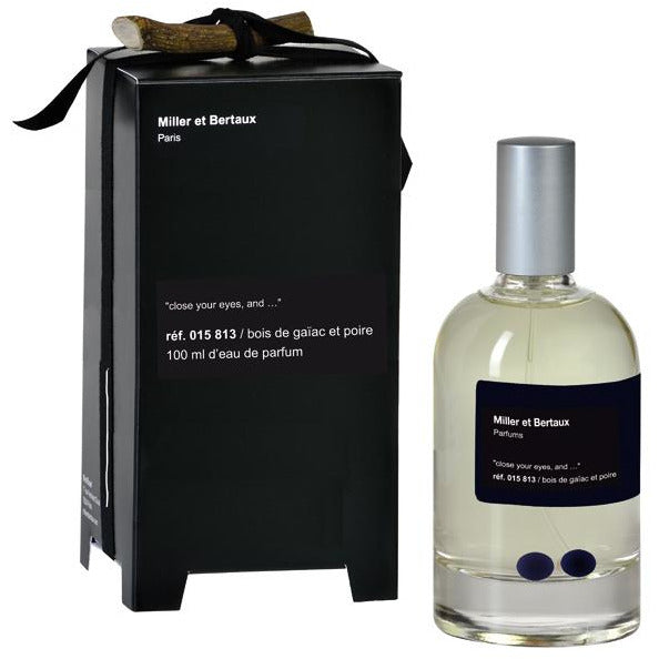 «close your eyes, and…» Ref 015 813 / bois de gaïac et poire EdP, 100ml - PARFUMS LUBNER