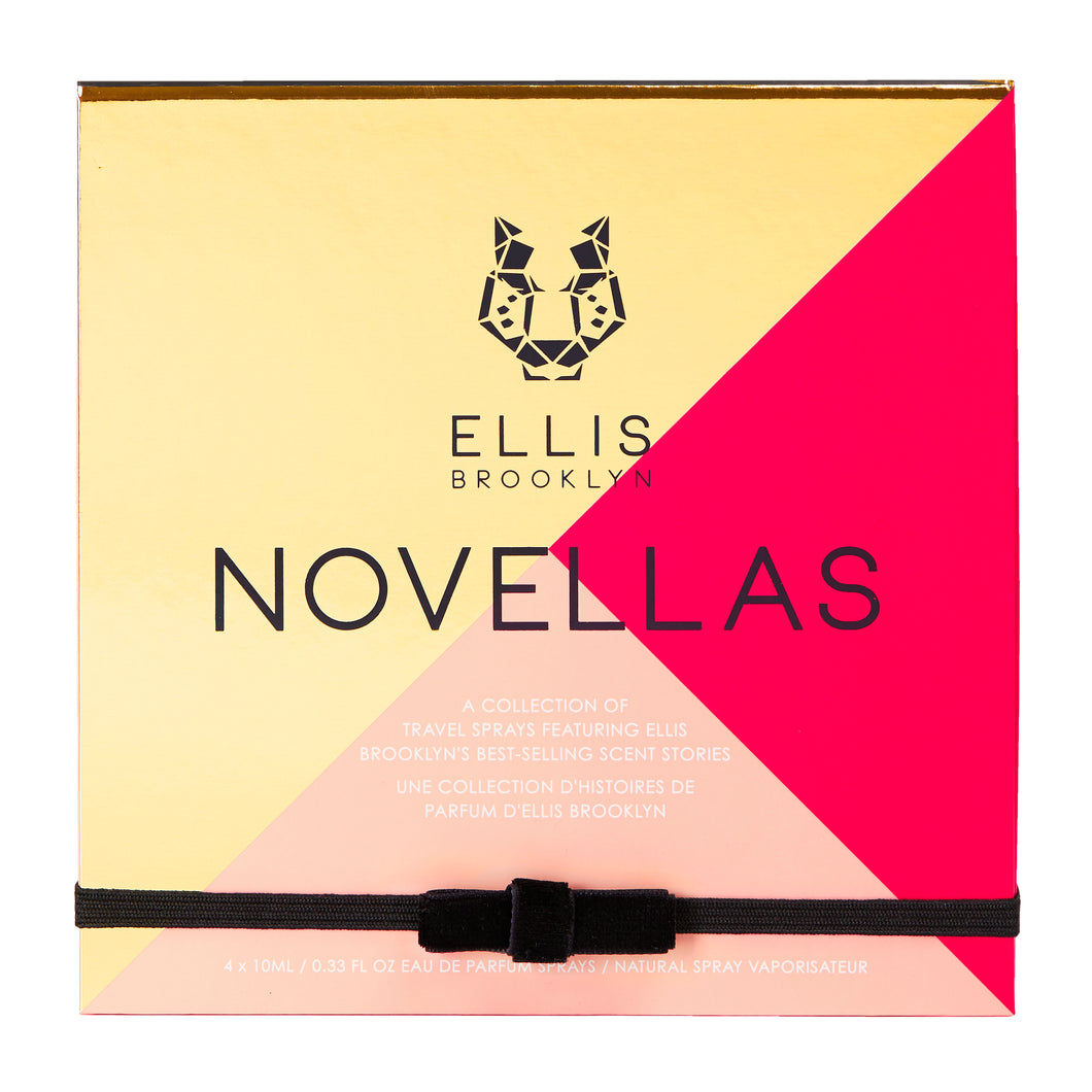 Novellas Travel Spray Geschenkset - Limited edition, 4x10ml - PARFUMS LUBNER