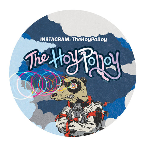 The Hoy Polloy SLAPS! Ferret Eyes Sticker