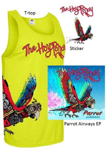 The Hoy Polloy - Parrot Airways EP Package