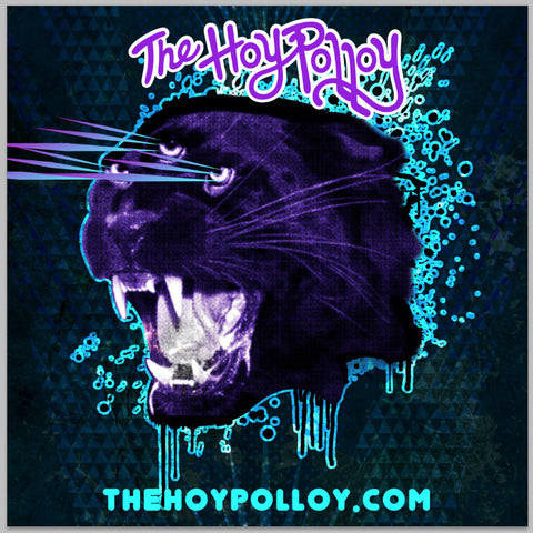 The Hoy Polloy SLAPS! Panther 3-beam sticker