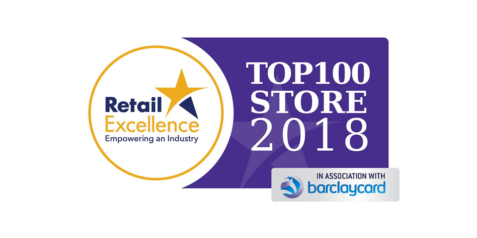 Retail Excellence Ireland Top 100 2018