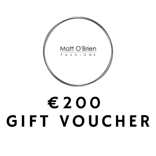 Matt O'Brien Fashions €200 Gift Voucher