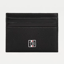 Load image into Gallery viewer, Tommy Hilfiger TH Monogram CC Holder Black