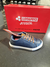 Load image into Gallery viewer, Lloyd & Pryce Tommy Bowe Shoes Ashton Kids Casual Lace Shoe Storm