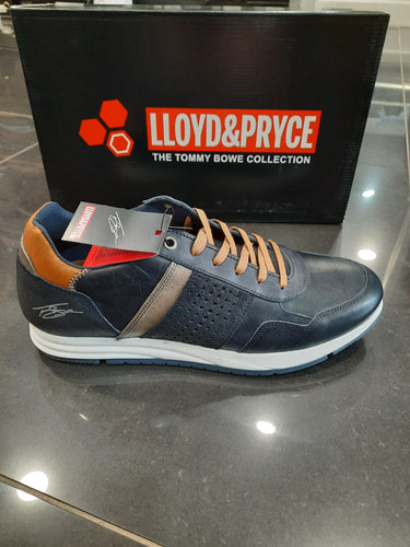 Lloyd & Pryce Tommy Bowe Shoes Varley Runner Matrix Blue